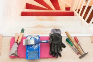 trap tapijt verwijderen