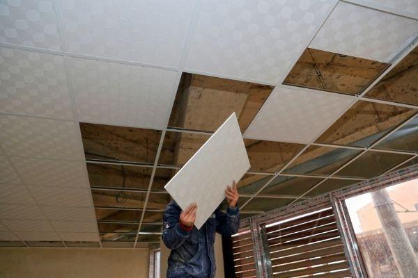 systeemplafond verwijderen
